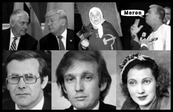 tillerson-fake-trump-russian-mother-dave-plus-rumsfeld-original-trump-and-mother-mary-MORON-600