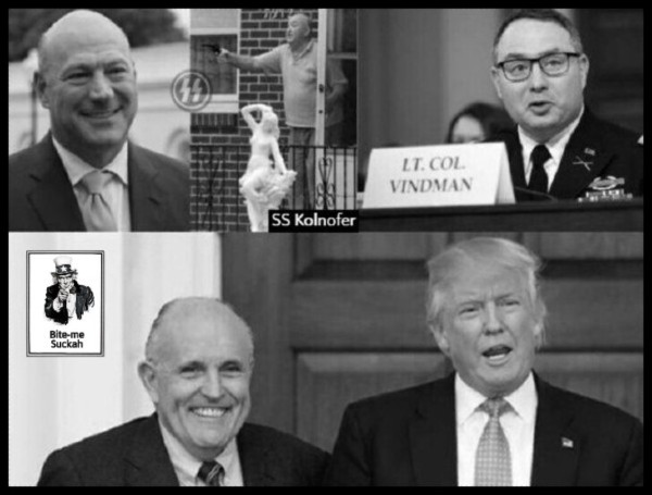 cohn-kolnofer-ss-vindman-giuliani-faux-trump-600