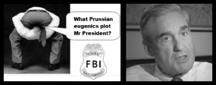 FBI Mueller Prussian Eugenics plot REDONE 730