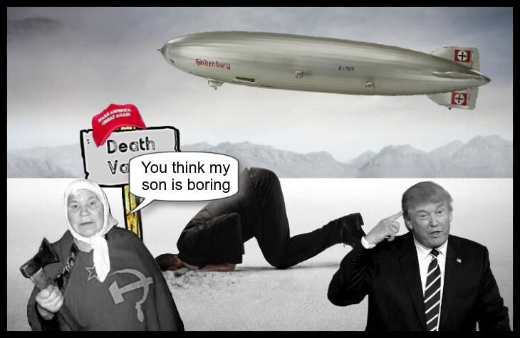 America's (Boring) Nazitakeover…