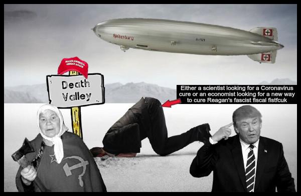 head-in-the-sand-hindenburg-russian-lady-fake-trump Reagan fascist fiscal fistfcuk MAGA 600