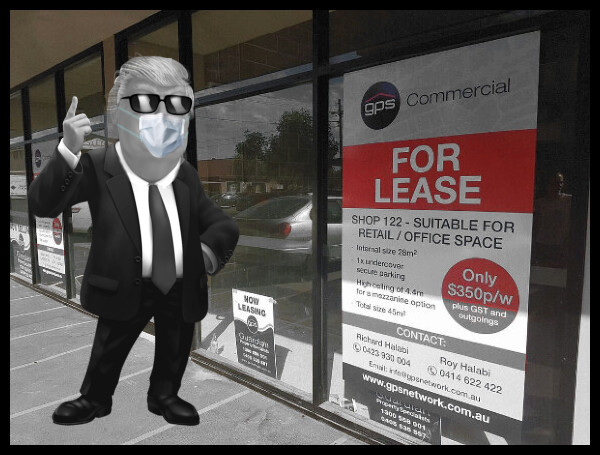 FOR LEASE Low Color Spotted 600 PLUS Mask Faux TRump