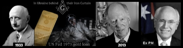 NAZI GOLD Ukraine Black Rothschild Iron Curtain 600